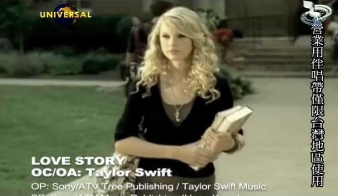 Taylor Swift-lovestory.-高清MV