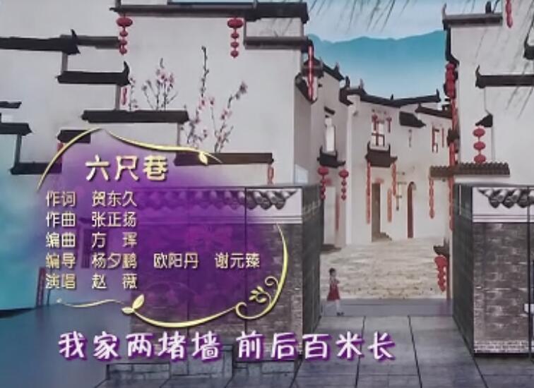 赵薇《六尺巷》(2016央视春晚)高清MV