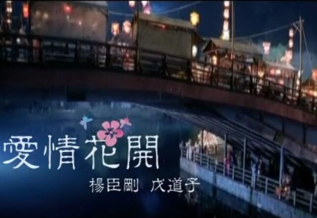 戊道子、杨臣刚《爱情花开》MV 高清