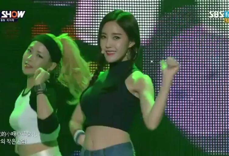 T-ara《小苹果》(141202SBS) MV