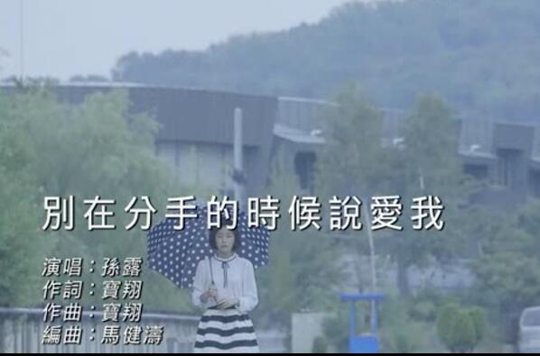 孙露-别在分手的时候说爱我 车载MV