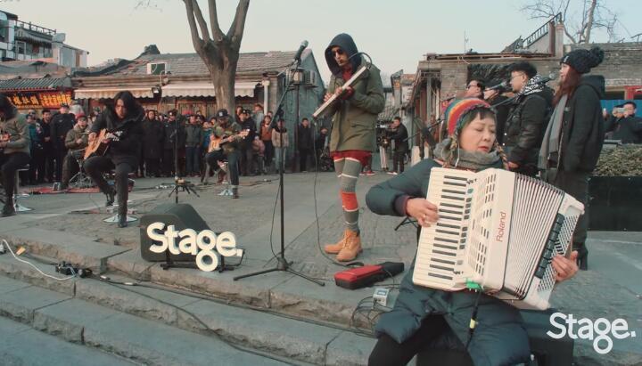 朴树-猎户星座 Stage 1080PMV Live